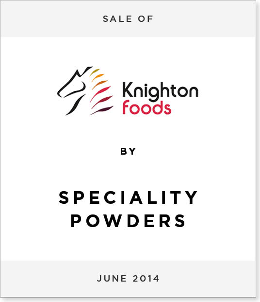 TombstoneV224 Disposal of Knighton Powdered Foods Division to Specialty Powders