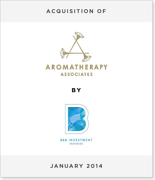 TombstoneV226-1 Acquisition of Aromatherapy Associates by B&B Investment Partners