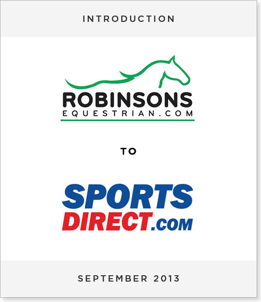 TombstoneV228-1 Acquisition of Robinsons Country Leisure by Sports Direct