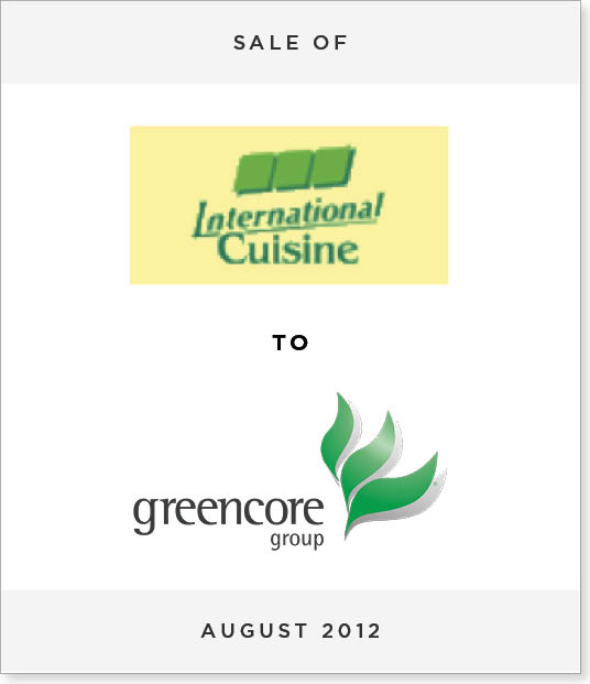 TombstoneV239-2 Disposal of International Cuisine to Greencore PLC