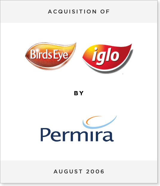 TombstoneV269 Acquisition of Birds Eye/Iglo by Permira