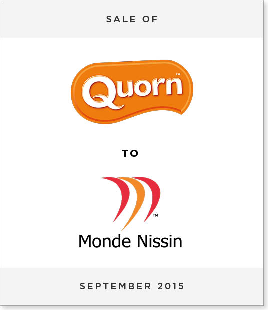 TombstoneV27-1 Disposal of Quorn Foods to Monde Nissin