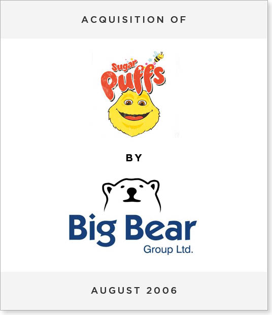 TombstoneV270 Acquisition of Sugar Puffs by Big Bear Group PLC