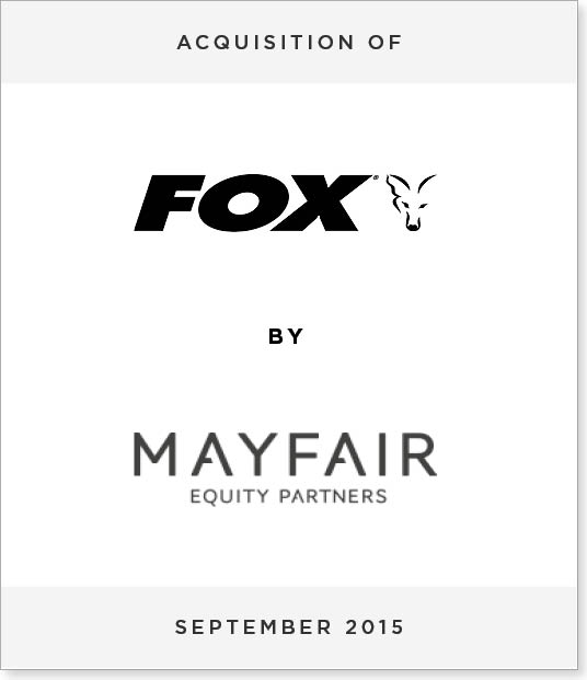 TombstoneV28 Acquisition of Fox International by Mayfair Equity Partners