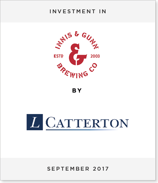 TombstoneV23 Disposal of 27.9% Minority Stake in Innis & Gunn to L Catterton