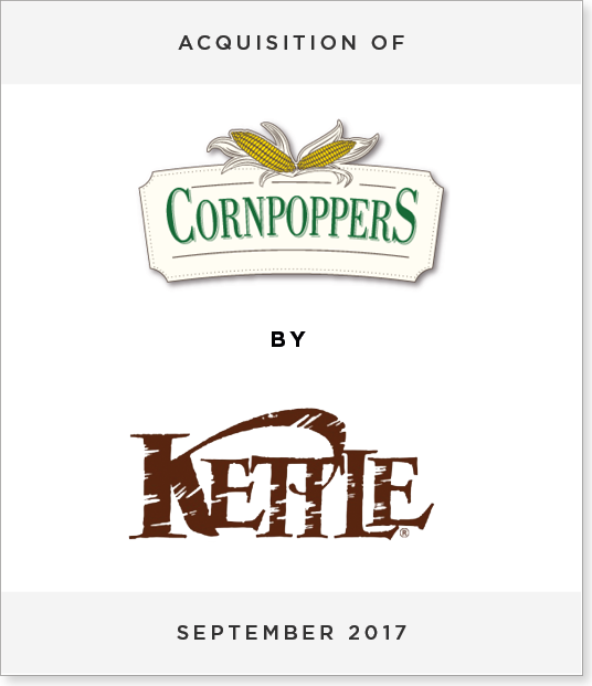 TombstoneV2 Acquisition of Cornpoppers by Kettle Foods
