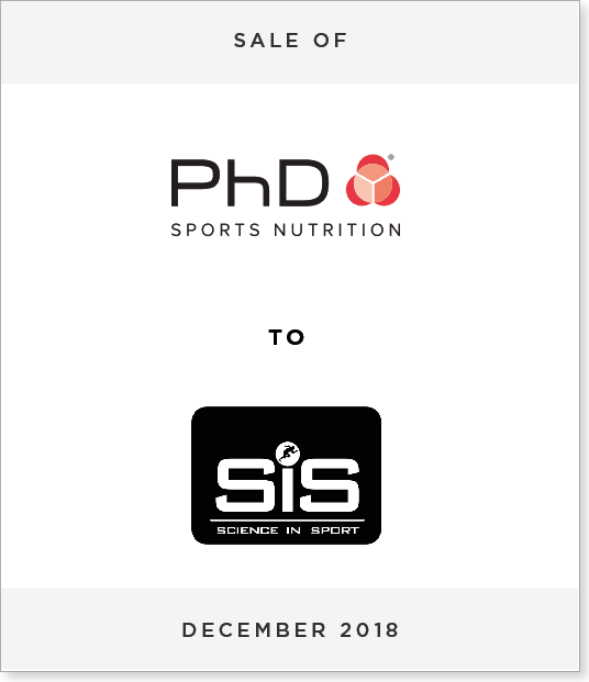 Tombstone-Designnew Disposal of PhD Nutrition to Science in Sport plc