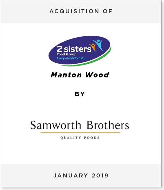 Tombstone-Designnew4 Acquisition of Manton Wood by Samworth Brothers