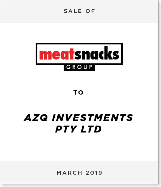 Tombstone-Designnew-1 Sale of Meatsnacks Group Limited to AZQ Investments Pty Ltd