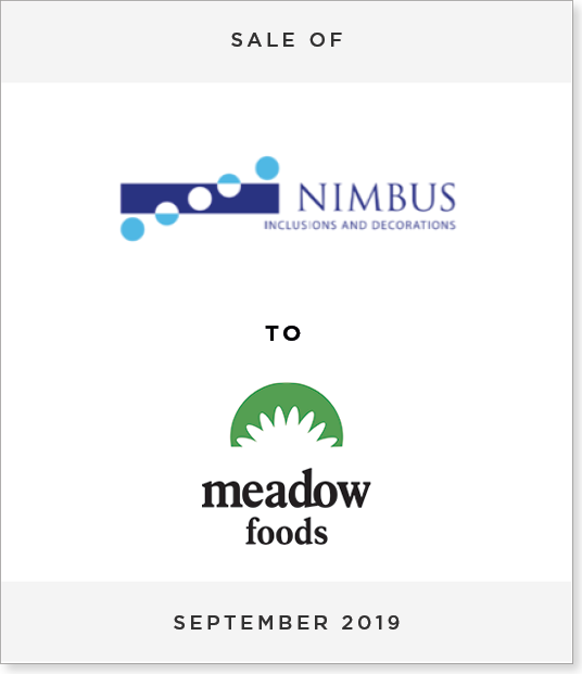 Tombstone-Designnew Disposal of Nimbus Food Limited to Meadow Foods