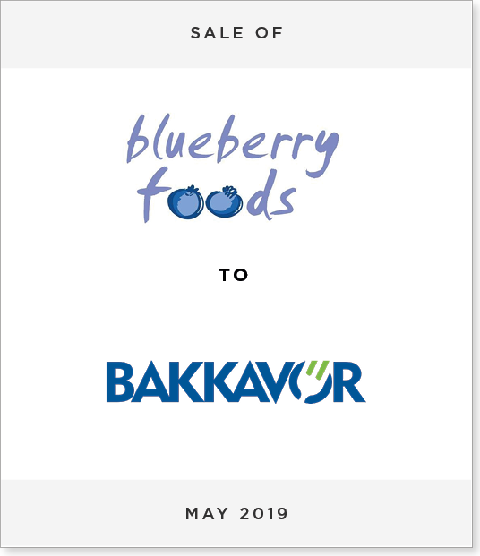Tombstone-Designnew Disposal of Blueberry Foods to Bakkavor