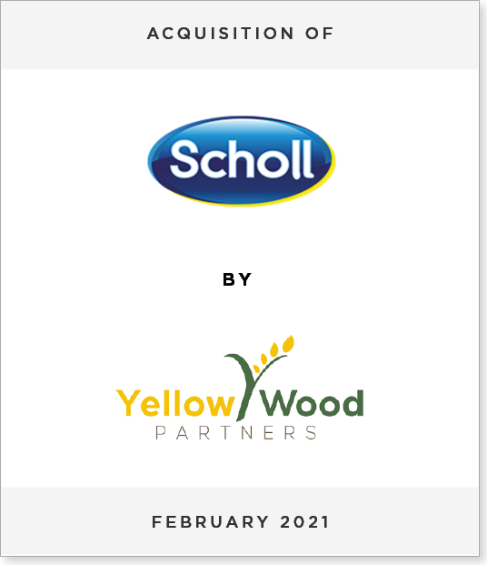 Scholl-YP Acquisition of Scholl by Yellow Wood Partners