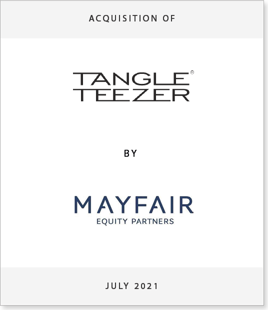 tt-ts-1 Acquisition of Tangle Teezer by Mayfair Equity